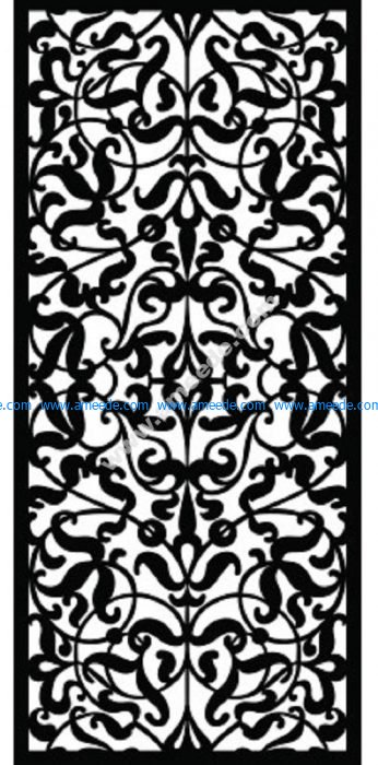 Decorative Screen Pattern 13