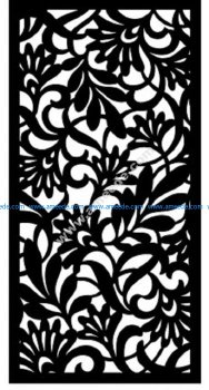 Decorative Screen Pattern 16