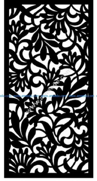 Decorative Screen Pattern 15
