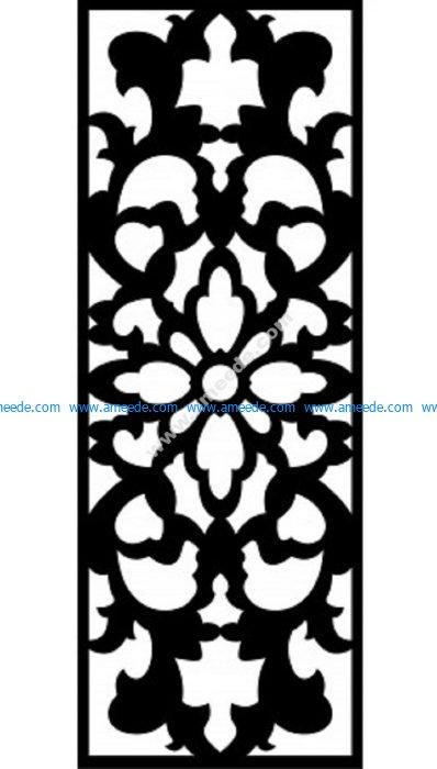 Decorative Screen Pattern 21