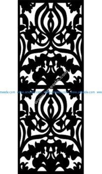Decorative Screen Pattern 22