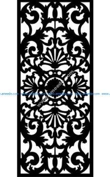 Decorative Screen Pattern 28