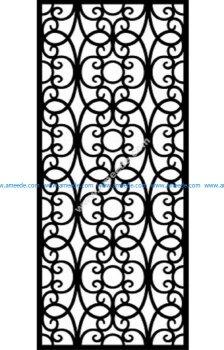 Decorative Screen Pattern 31