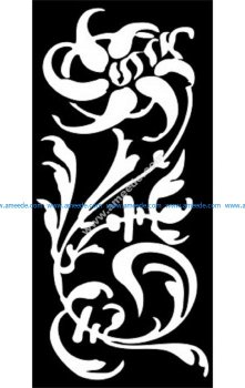 Decorative Screen Pattern 33