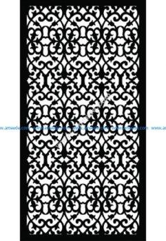 Decorative Screen Pattern 35