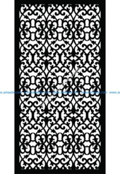 Decorative Screen Pattern 35