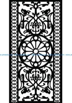 Decorative Screen Pattern 38