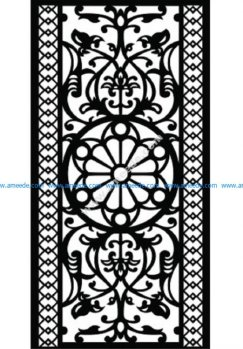 Decorative Screen Pattern 38