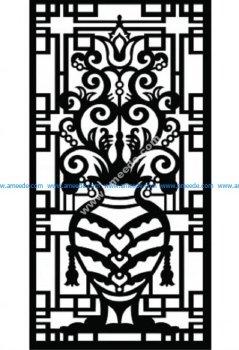 Decorative Screen Pattern 42