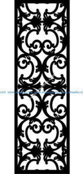 Decorative Screen Pattern 47