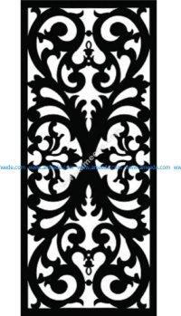Decorative Screen Pattern 52