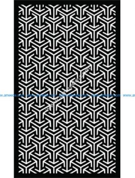 Decorative Screen Pattern 56