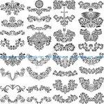 Gorgeous Ornamental Elements Free
