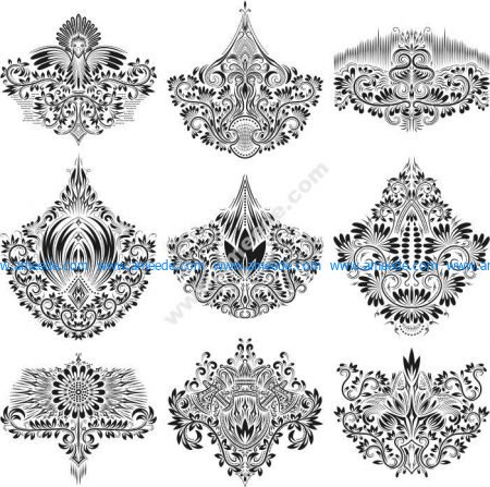 Gorgeous Ornamental Elements