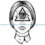 Illuminati female cyclop