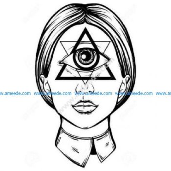Illuminati female cyclops