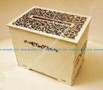 Laser Cut Wedding Card Box