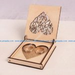 Laser cut wooden jewelry box plans