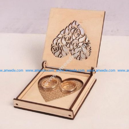 Laser cut wooden jewelry box plans