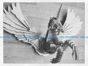 Pegasus for laser cutting