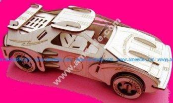 Racing Car 3D Puzzle