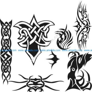 Set Of Tattoos