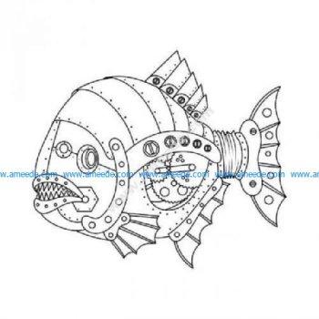 Steampunk fish