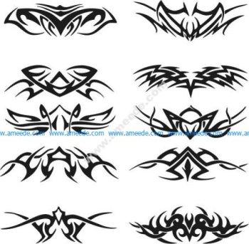 Tribal Tattoo Free Vector