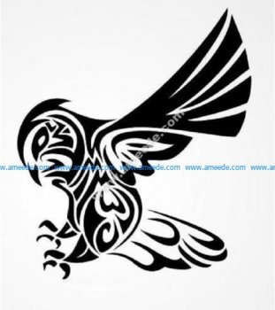 Tribal bird owl