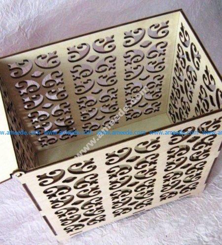 Wedding Box Laser Cut