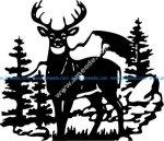 deer hunting season clock