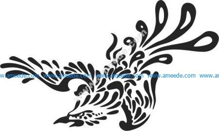 pattern of the phoenix fire