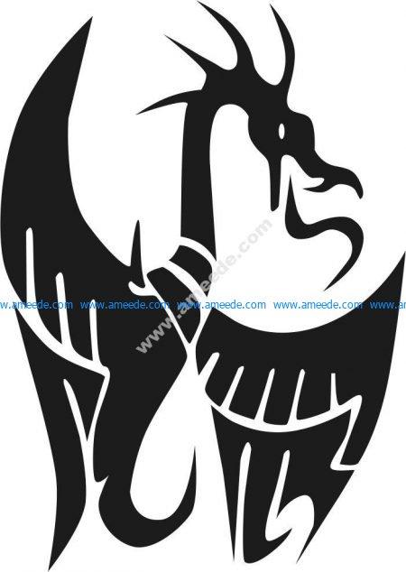 symbol of small dragon