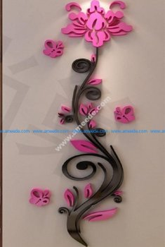 wall decal laser cut templates