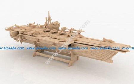 Aircraft carrier 3D Puzzle