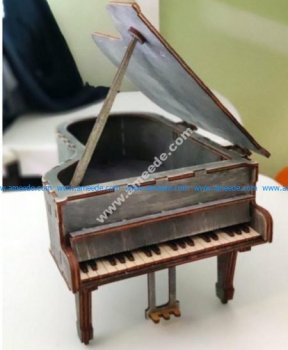 Grand Piano 3D Puzzle