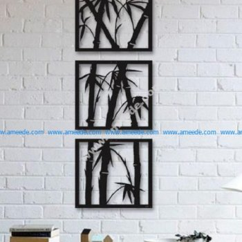 Laser Cut Wall Art Tree