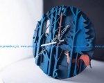 Laser Cut Wall Clock Forest Fox