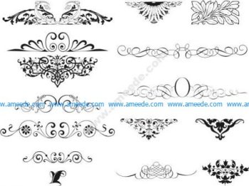 Swirl Ornamental Vector