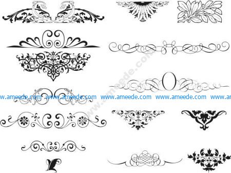 Swirl Ornamental Vector