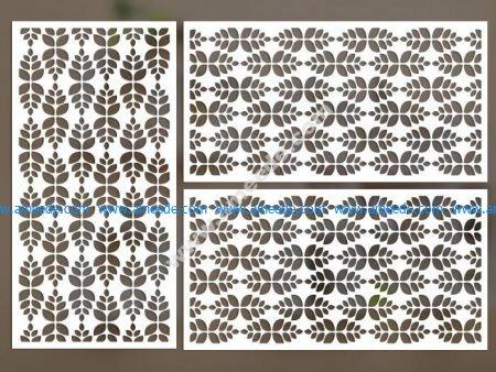 cnc cut pattern vector file 2