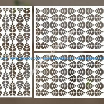 cnc cut pattern vector file 2