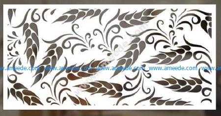 cnc cut pattern vector file 7