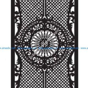 Beautiful design on backgammon for laser