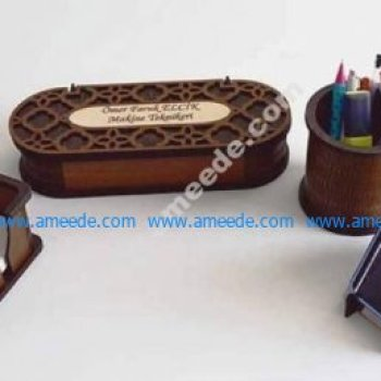 Desk Organizer Set 3 Mm