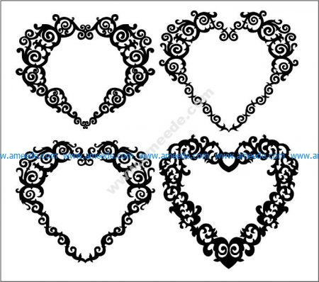 Hearts Patterns Free Vector