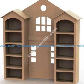 Home Shape Shelf