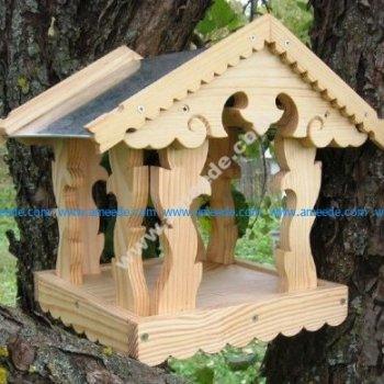 Laser Cut Bird Feeder