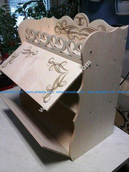 Laser Cut Bread Box Fre Vector