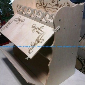Laser Cut Bread Box Fre Vector